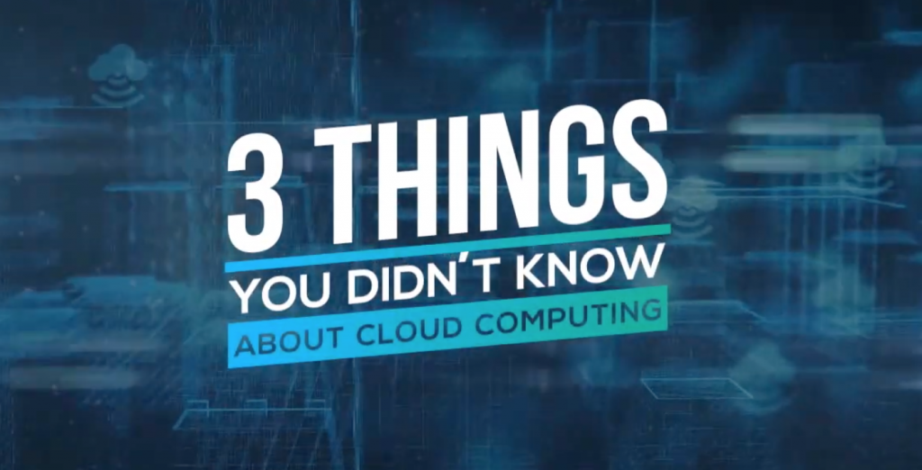 3 Things You Didn't Know About Cloud Computing - Aberdeen Cyber Security