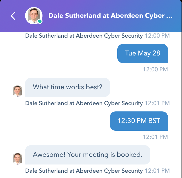Aberdeen Cyber Security - Scheduling 3