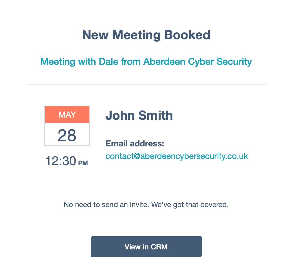 Aberdeen Cyber Security - Scheduling 5