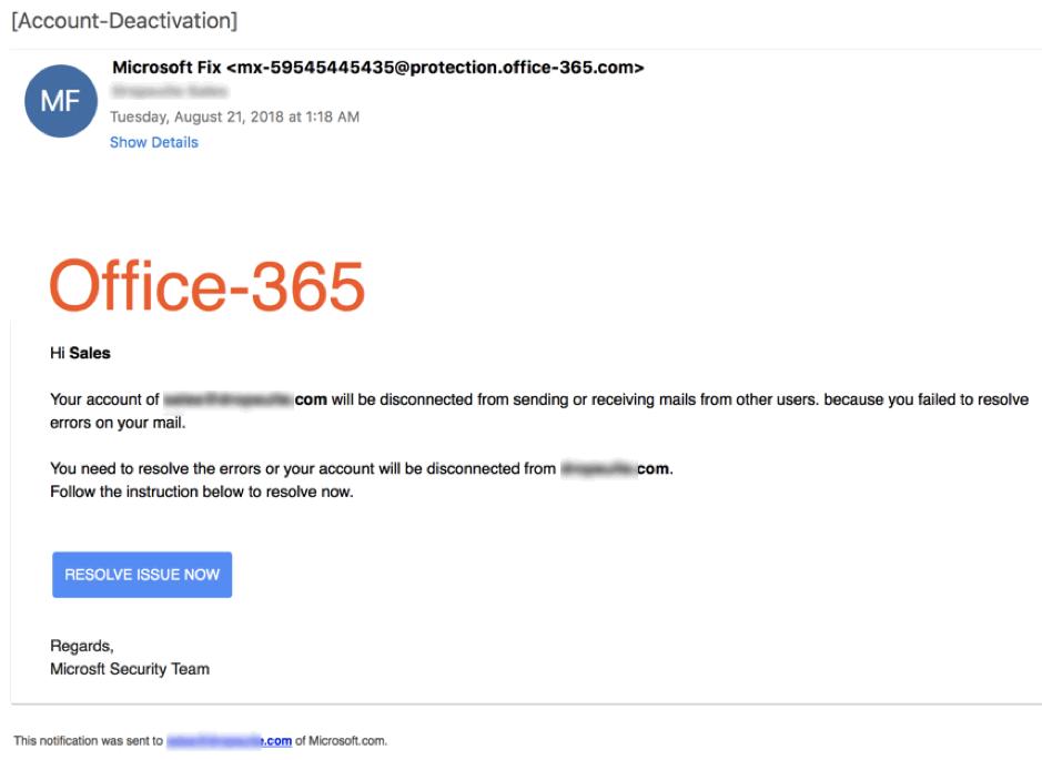 Aberdeen Cyber Security - Office 365